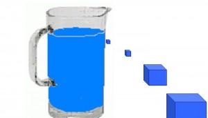 Сколько литров воды в 1 кубе