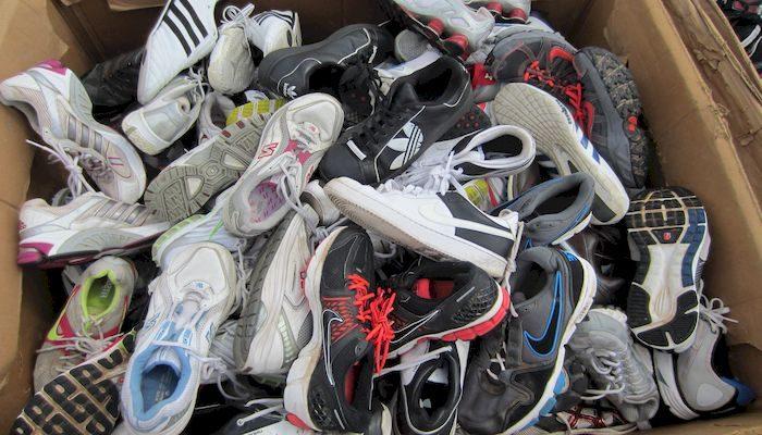 Ношеная обувь