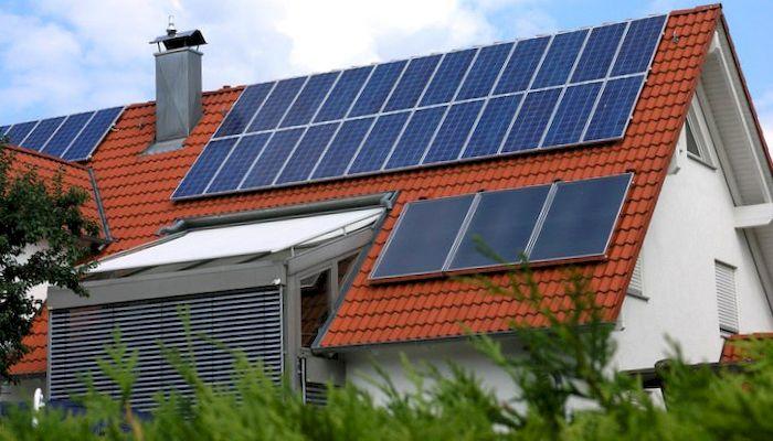 Солнечная батарея для дома, фото