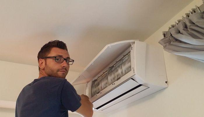 Чистка кондиционера в домашних условиях