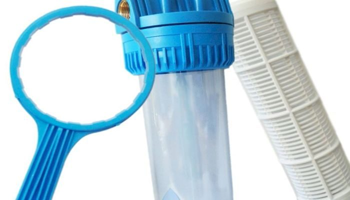 Магистральный фильтр для очистки воды в квартире, фото