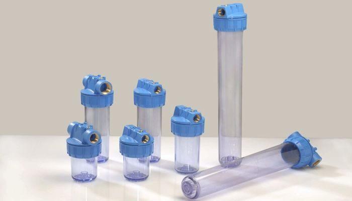 Магистральный фильтр для очистки воды, фото
