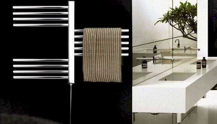 Экономный электрический полотенцесушитель, фото