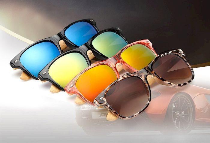 Женские очки с деревянными дужками, Алиэкспресс