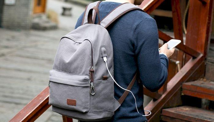 Мужской рюкзак с USB портом