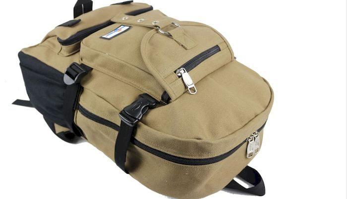 Рюкзак с карманами, фото
