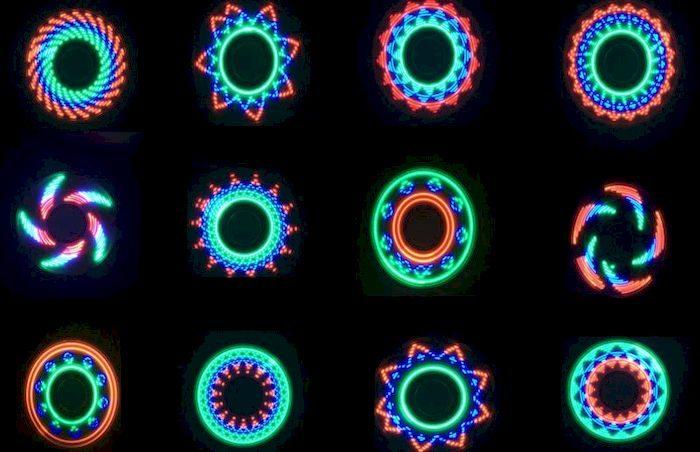 Спиннер со светодиодами