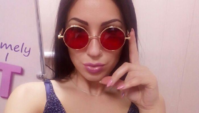 Круглые стимпанк-очки от солнца