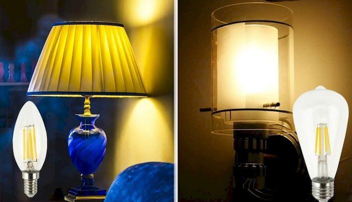 Винтажная лампа, на Алиэкспресс