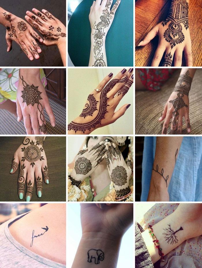 Как сделать тату руками