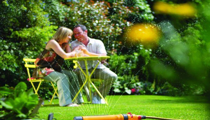 Экономия воды в саду