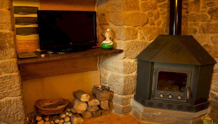 Отопление в частном доме с помощью камина