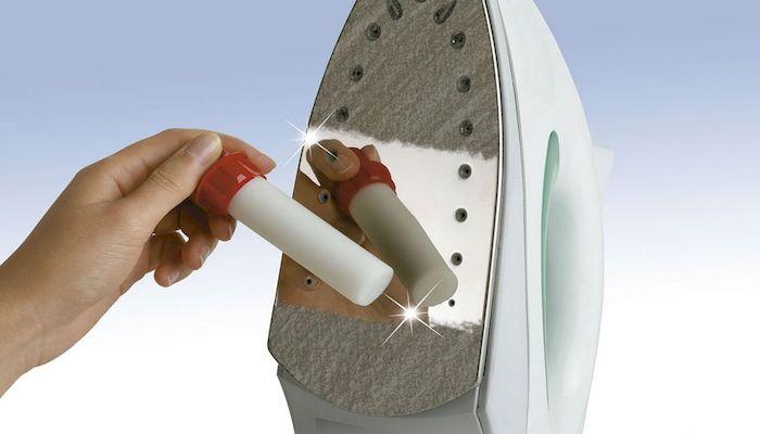 Очистка тефлонового покрытия утюга