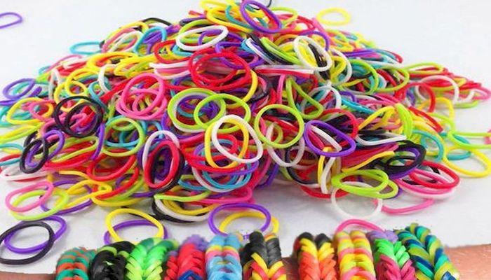 Резинки для плетения браслетов, фото
