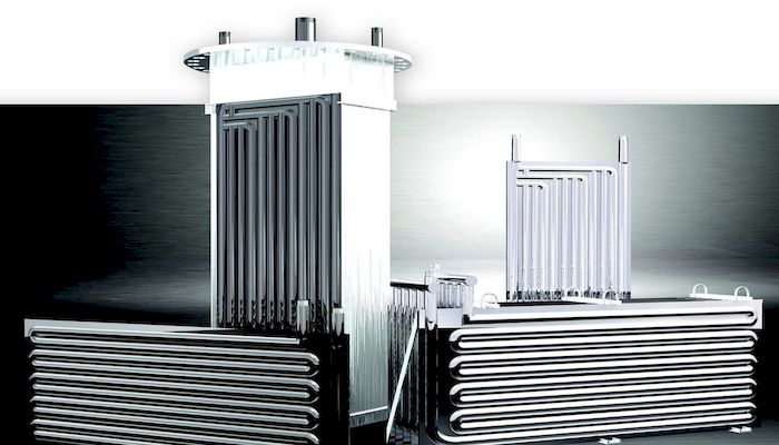 Теплообменник для горячей воды, фото